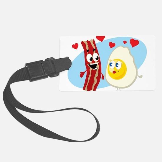 Bacon Love Luggage Tag