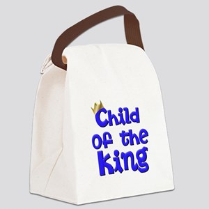Child of the King Christian Canvas Lunch Bag
