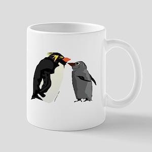 Rockhopper Penguin Mom and Baby Chick Mug