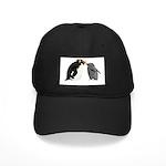 Rockhopper Penguin Mom and Baby Chick Baseball Hat