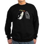 Rockhopper Penguin Mom and Baby Chick Sweatshirt