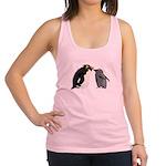 Rockhopper Penguin Mom and Baby Chick Racerback Ta
