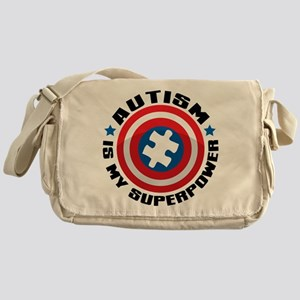 Autism Shield Messenger Bag