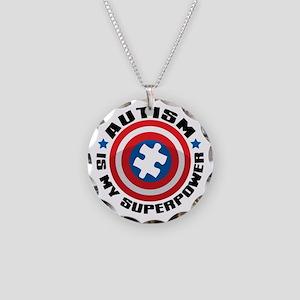 Autism Shield Necklace