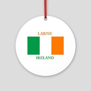 Larne Ireland Ornament (Round)