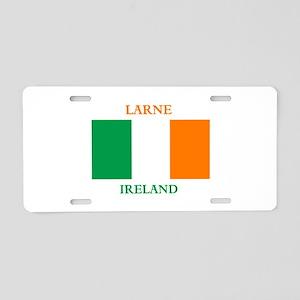 Larne Ireland Aluminum License Plate
