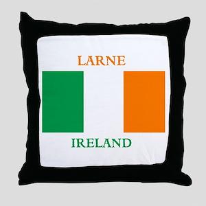 Larne Ireland Throw Pillow
