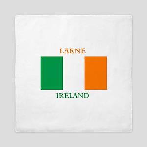 Larne Ireland Queen Duvet