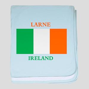Larne Ireland baby blanket