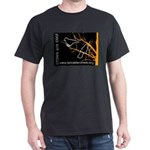 Crows are Cool -- T-Shirt in Black or Dk Green