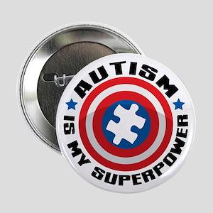 """Autism Shield 2.25"""" Button"""