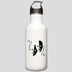 Theater Masks Stainless Water Bottle 1.0L