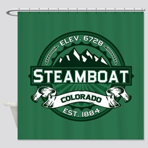 Steamboat Forest Shower Curtain