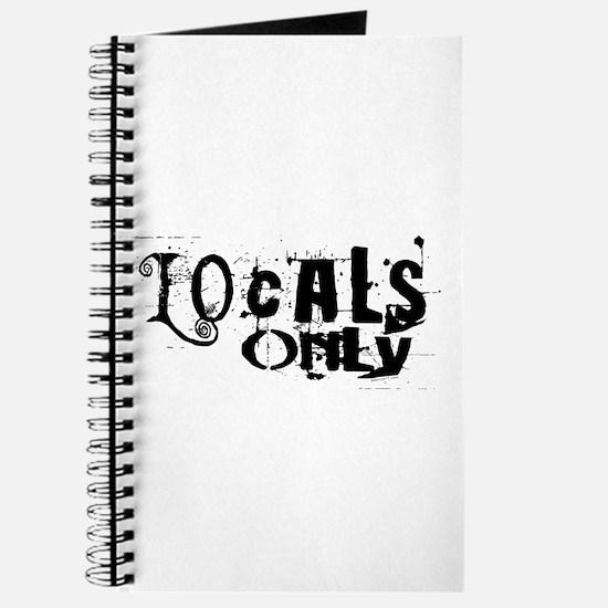 Locals Only Journal