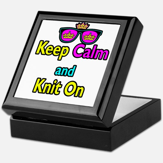 Crown Sunglasses Keep Calm And Knit On Keepsake Bo