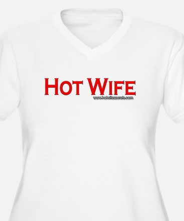Hot Wife Red Plus Size T-Shirt