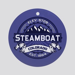 Steamboat Midnight Ornament (Round)