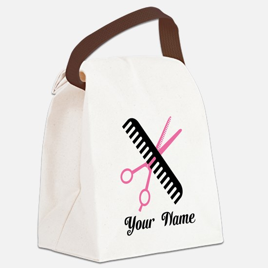 Personalized Stylist Canvas Lunch Bag