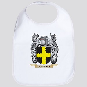 Dufferly Coat of Arms - Family Crest Baby Bib