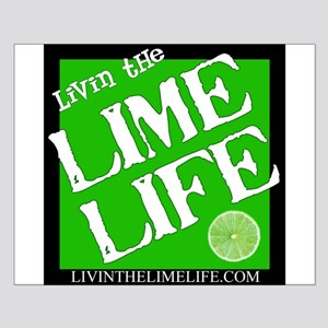 Livin' the Lime Life Logo Small Poster