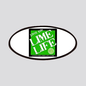 Livin' the Lime Life Logo Patches