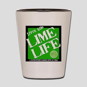 Livin' the Lime Life Logo Shot Glass