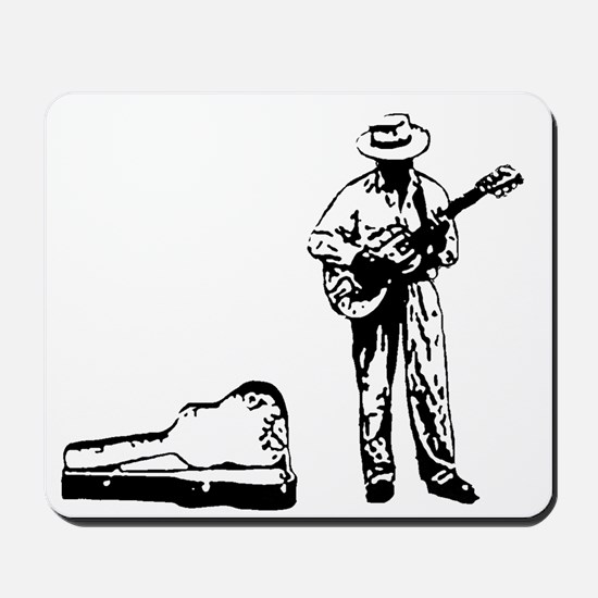 london busker Mousepad