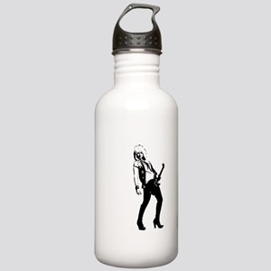 sexy guitar lady Water Bottle