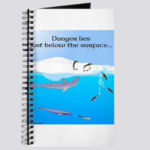 Leopard Seal Penguins and Ice Journal