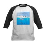 Leopard Seal Penguins and Ice Baseball Jersey