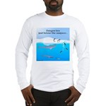 Leopard Seal Penguins and Ice Long Sleeve T-Shirt