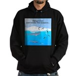 Leopard Seal Penguins and Ice Hoodie
