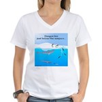 Leopard Seal Penguins and Ice T-Shirt