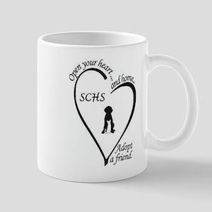 Sanilac County Humane Society Logo Mug
