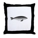 Weddell Seal Swimming Throw Pillow