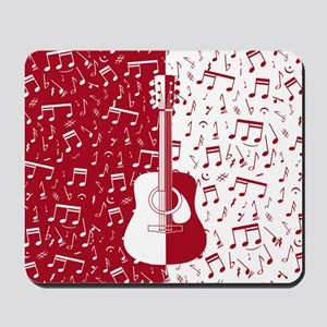 MG4U guitar art Mousepad