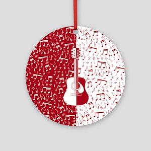 MG4U guitar art Round Ornament