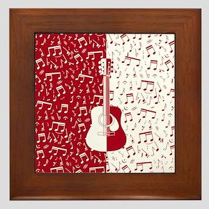 MG4U guitar art Framed Tile