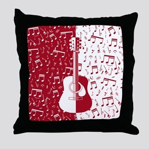 MG4U guitar art Throw Pillow