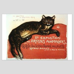 Cat, Steinlen, Vintage Poster Posters