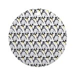 Penguin Pattern 1 Ornament (Round)