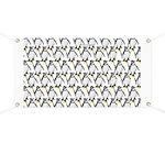 Penguin Pattern 1 Banner