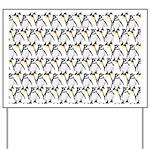 Penguin Pattern 1 Yard Sign