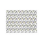 Penguin Pattern 1 5'x7'Area Rug