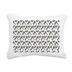 Penguin Pattern 1 Rectangular Canvas Pillow