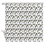 Penguin Pattern 1 Shower Curtain