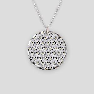 Penguin Pattern 1 Necklace