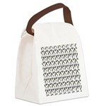 Penguin Pattern 1 Canvas Lunch Bag