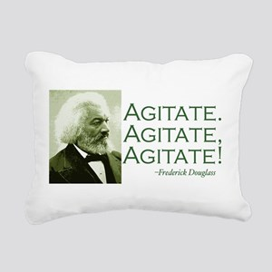 Agitate Rectangular Canvas Pillow