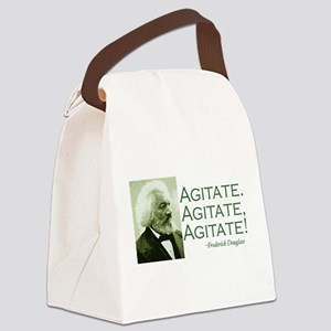 Agitate Canvas Lunch Bag